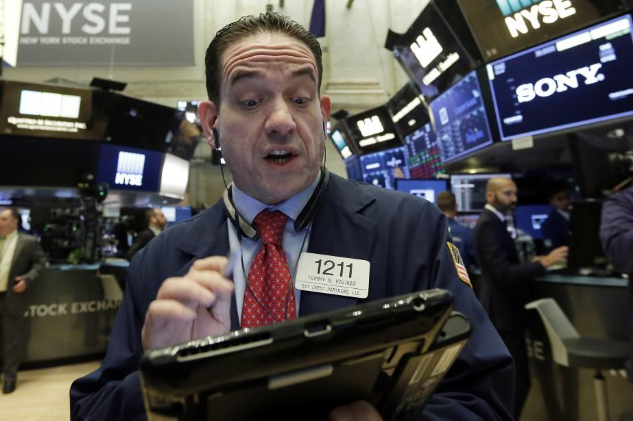 Le Dow Jones avance de 0,35% et le... (AP)