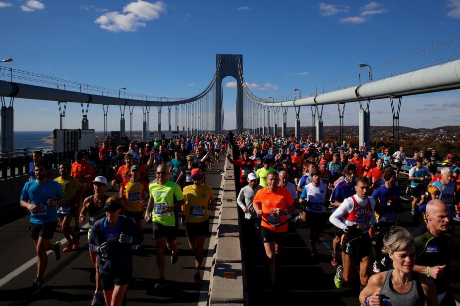Plus de 50 000 coureurs doivent participer au... (Photo Brendan McDermid, archives Reuters)