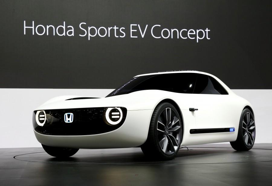 Le Honda Sports EV Concept. (REUTERS)
