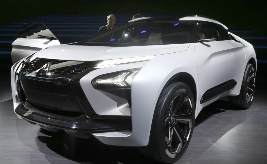 L'e-Evolution de Mitsubishi. (AP)