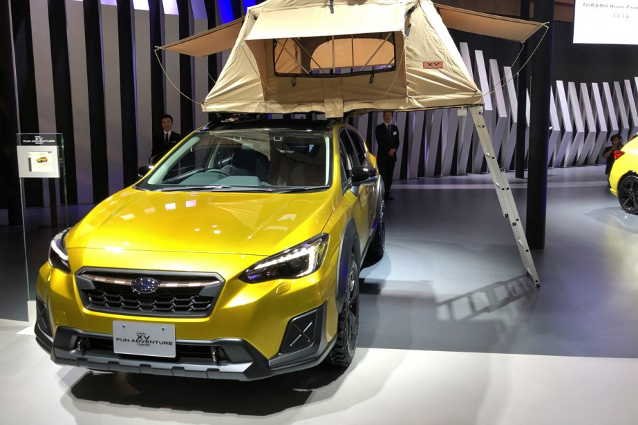Le Subaru XV Fun Adventure | 1 novembre 2017