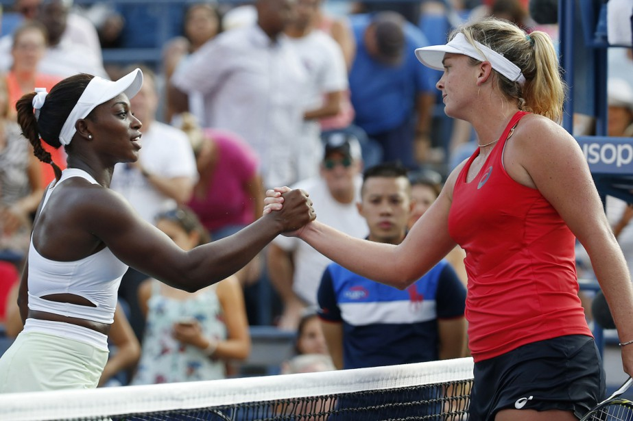 Sloane Stephens (à gauche) et CoCo Vandeweghe (à... (Photo archives USA Today)