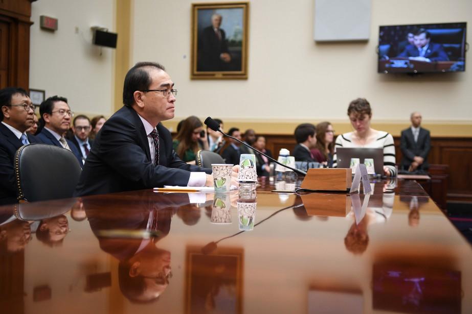 Thae Yong-Ho, l'un des plus hauts diplomates de... (PHOTO JIM WATSON, AFP)