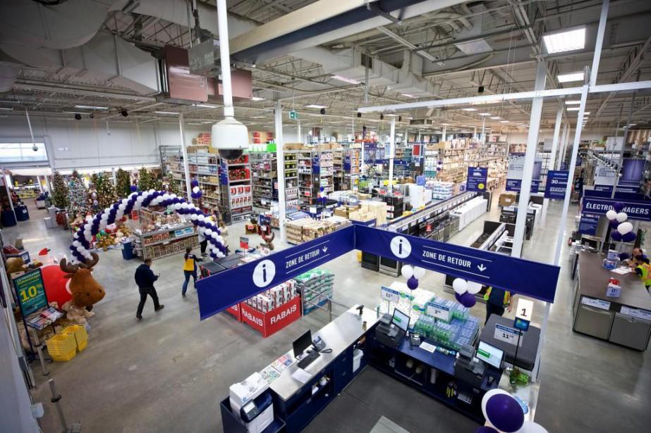 Lowe's Canada s'attend à ce que le nouveau... (PHOTO ANDRÉ PICHETTE, LA PRESSE)