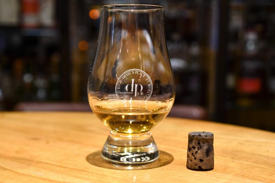 Le whisky Macallan millésimé 1878 dont un Chinois... (Photo archives AFP)