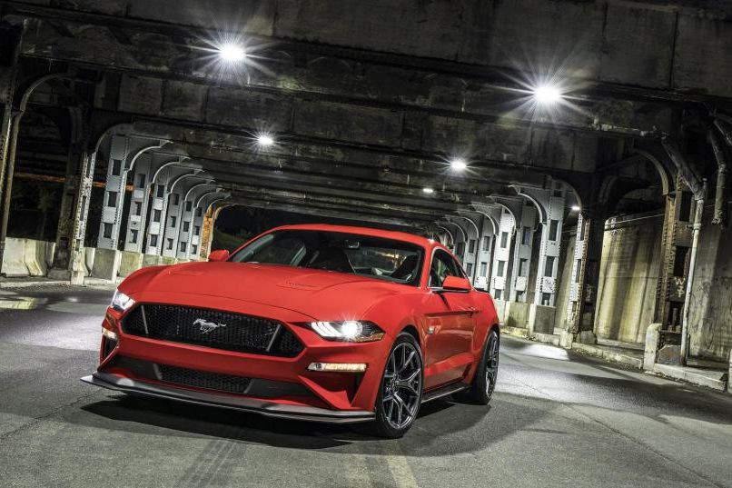 La Mustang GT 2018, équipée du groupe Performance 2 (Photos : Ford)