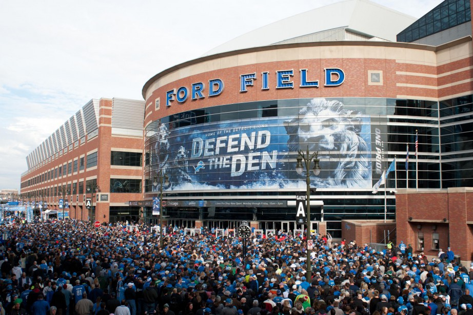 Cette nouvelle équipe jouerait au Ford Field.... (PHOTO ARCHIVES USA Today Sports)