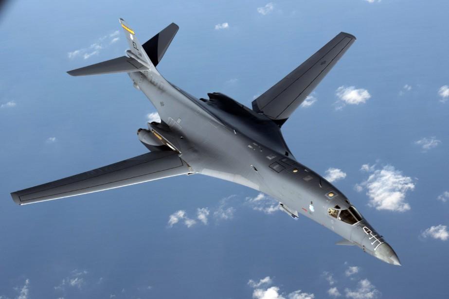 Deux bombardiers B-1B Lancer ont participé à l'exercice.... (PHOTO ARCHIVES AP/U.S. AIR FORCE)