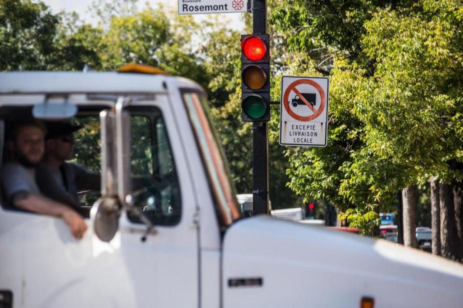 L'Association du camionnage du Québeccraint qu'on ne force... (Photo Olivier PontBriand, Archives La Presse)