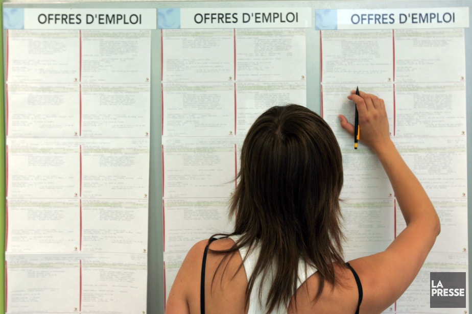 L'emploi a progressé de 18 000 au Québec... (Photo archives La Presse)