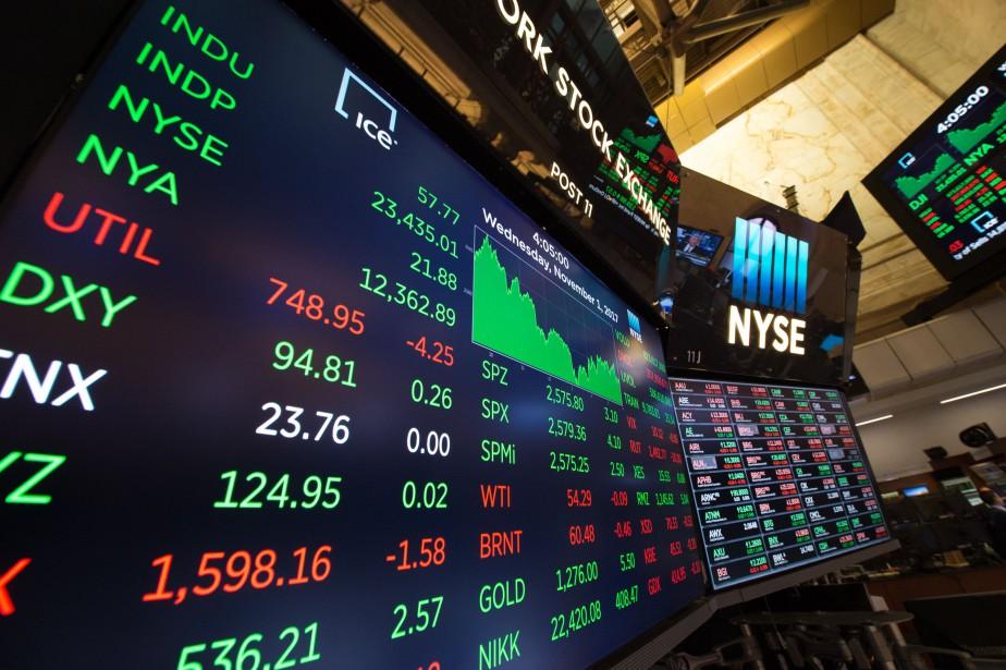 Wall Street continue de s'enthousiasmer pour Apple, première... (photo AFP)
