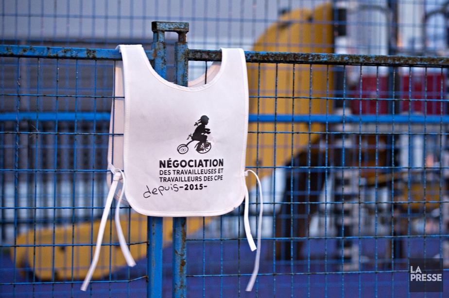 Les syndiqués des CPE débraieront les 7 et... (photo PATRICK SANFAÇON, LA PRESSE)