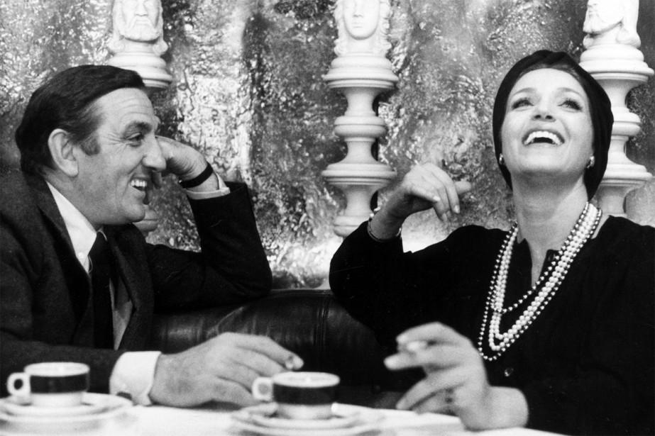 Lino Ventura et Françoise Fabian dans La bonne... (PHOTO FOURNIE PAR LE FESTIVAL CINEMANIA)