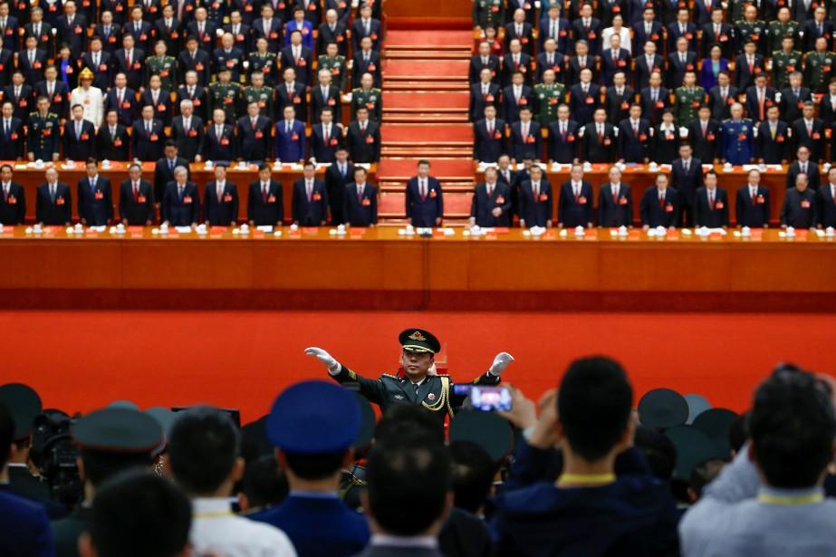 Le gouvernement chinois a adopté un amendement à... (Photo Thomas Peter, REUTERS)
