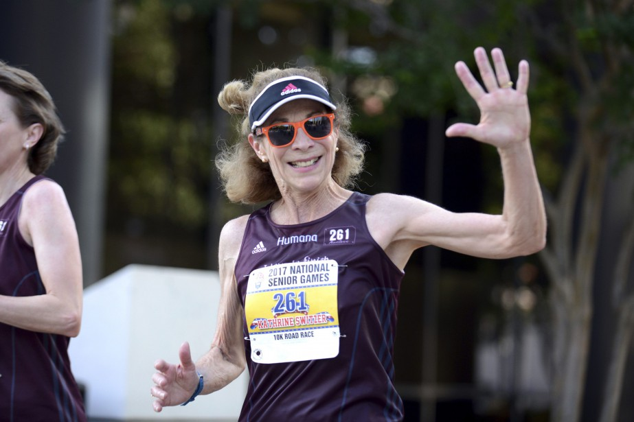 Kathrine Switzer a créé sa fondation, 261 Fearless,... (Photo Andrea Mabry, AP)