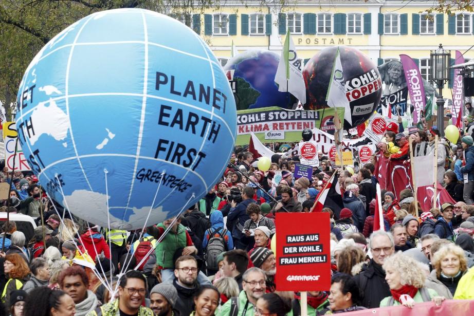 La rencontre à Bonn réunit des délégués de... (Photo Roland Weihrauch, AP)