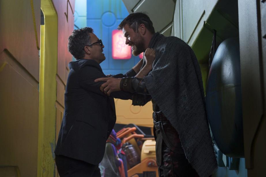 Thor: Ragnarok met notamment en vedette Mark Ruffalo... (Photo fournie par Marvel Studios)