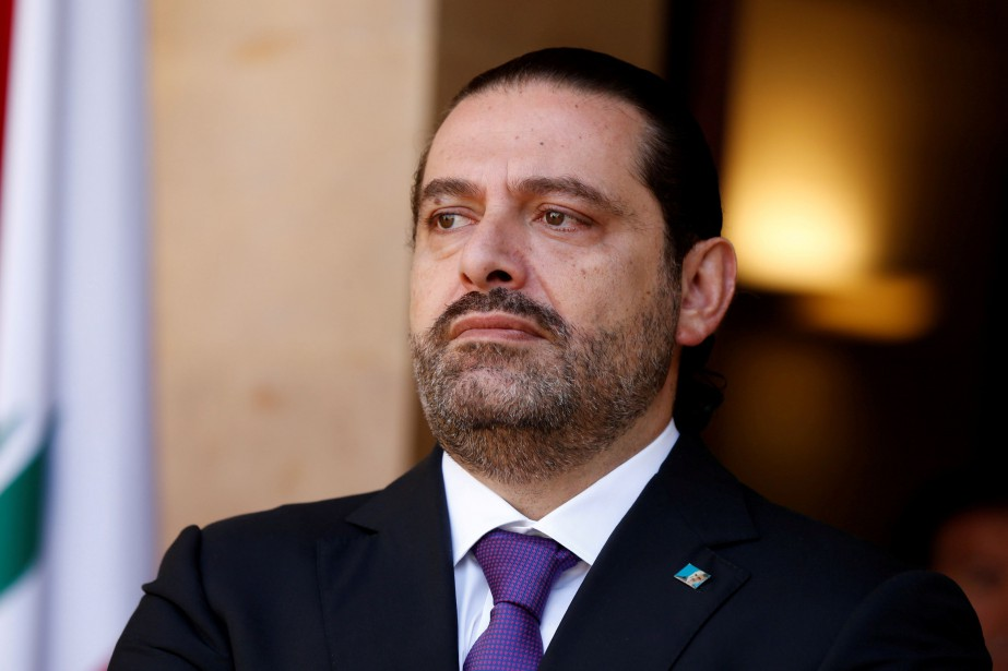le premier ministre libanais Saad Hariri a dénoncé... (Photo Mohamed Azakir, REUTERS)