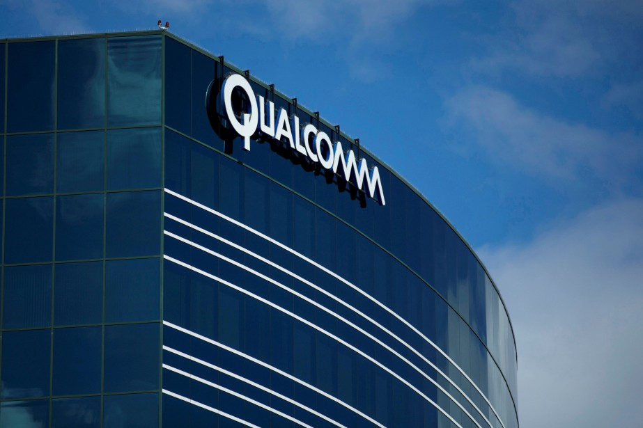 FILE PHOTO: One of many Qualcomm buildings is... (REUTERS)