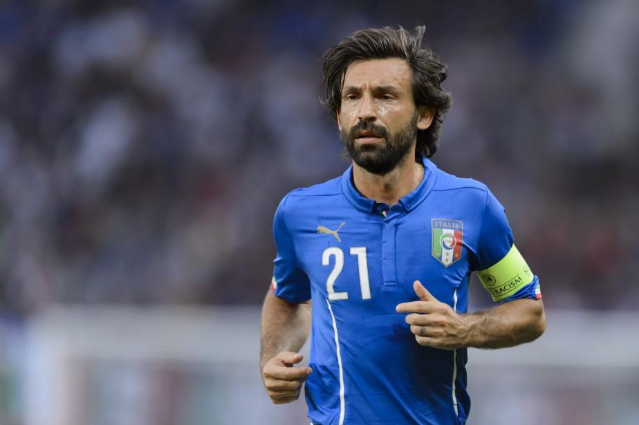 Andrea Pirlo... (Photo Fabrice Coffrini, archives AFP)