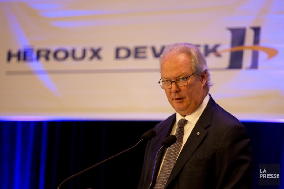 En discutant des résultats du deuxième trimestre dans... (Photo François Roy, La Presse)