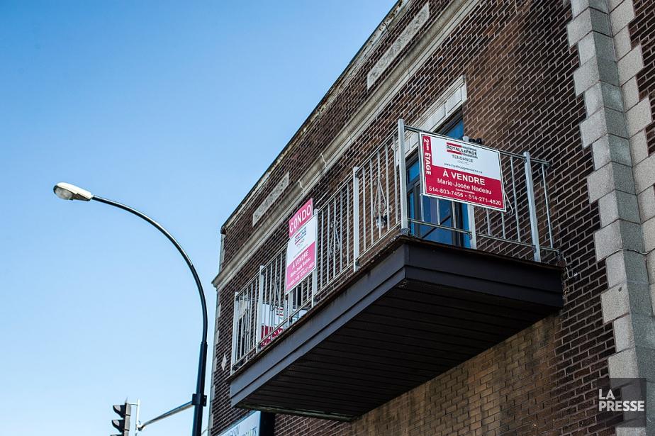 Le nombre de propriétés vendues au cours du... (PHOTO OLIVIER PONTBRIAND, ARCHIVES LA PRESSE)