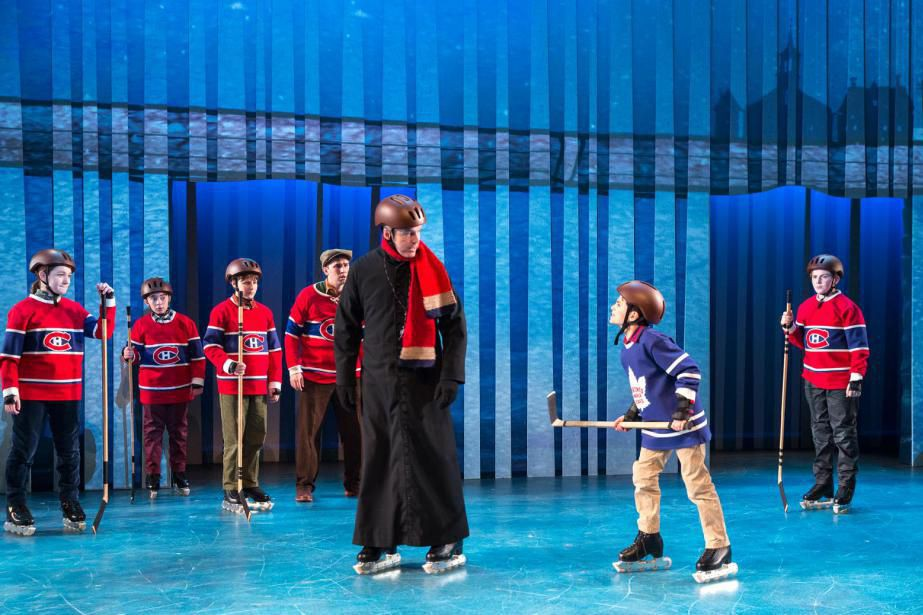 The Hockey Sweater: a Musical est tiré de la... (photo Leslie Schachter, fournie par la production)
