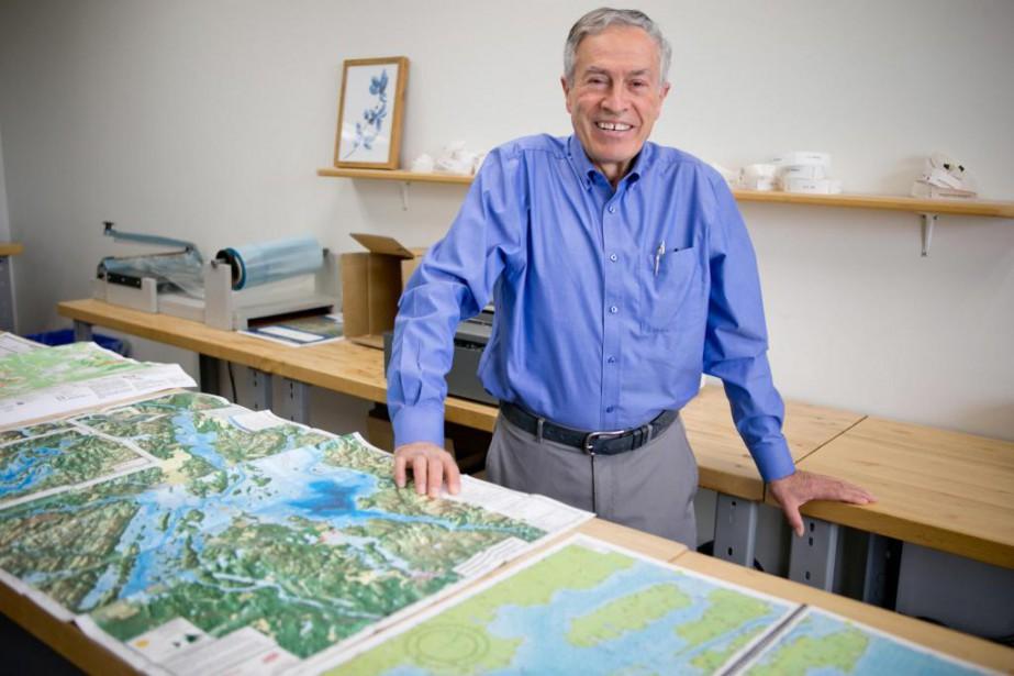 Faraj Nakhleh, président de TrakMaps et ingénieur électrique... (Photo David Boily, La Presse)