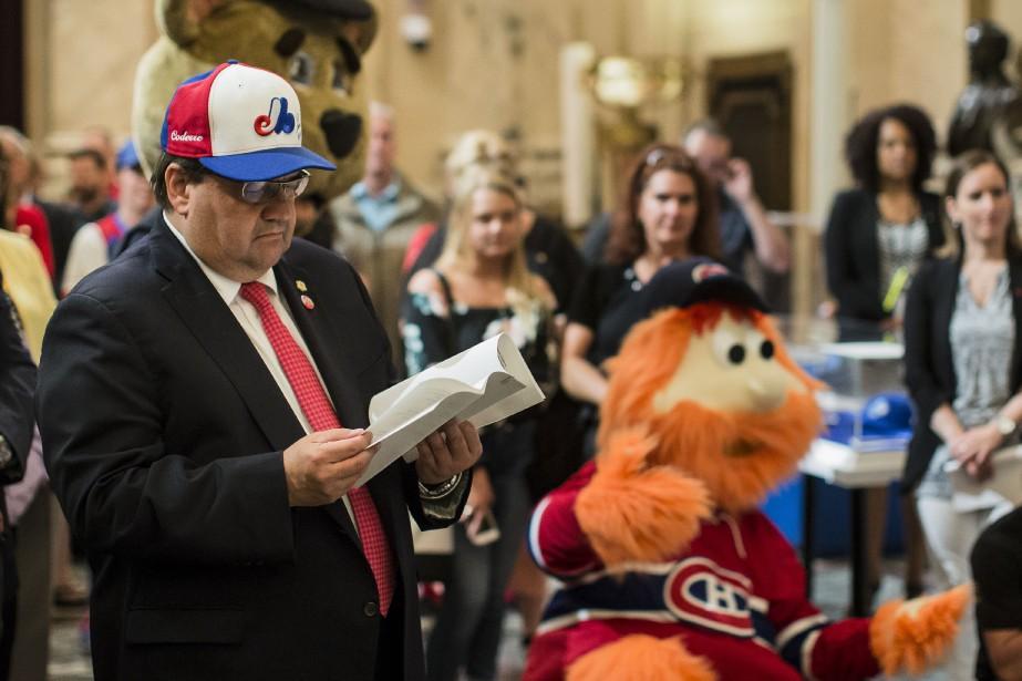 L'ex-maire de Montréal Denis Coderre s'est fait le... (PHOTO ÉDOUARD PLANTE-FRÉCHETTE, LA PRESSE)