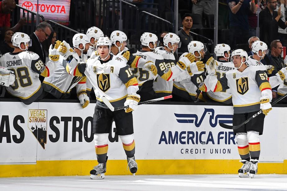 Les Golden Knights de Vegas se présenteront à... (Photo Stephen R. Sylvanie, USA TODAY Sports)