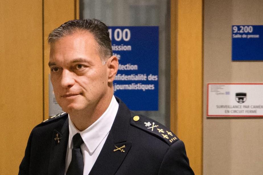 Philippe Pichet, directeur du Service de police de... (Photo Robert Skinner, Archives La Presse)