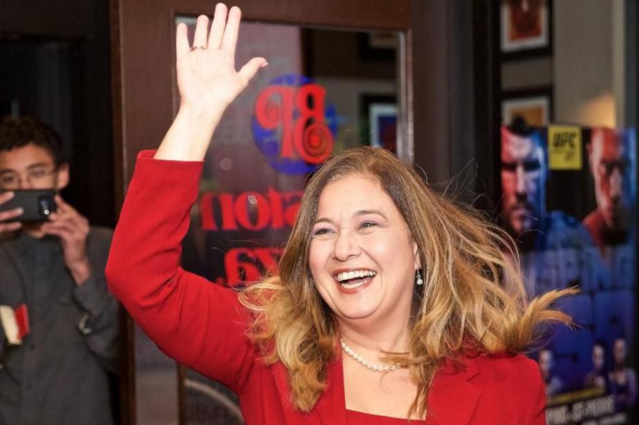 Doreen Assaad a été élue mairesse de Brossard,... (Photo André Pichette, La Presse)