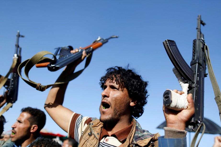 La coalition arabe, qui intervient militairement au Yémen... (REUTERS)
