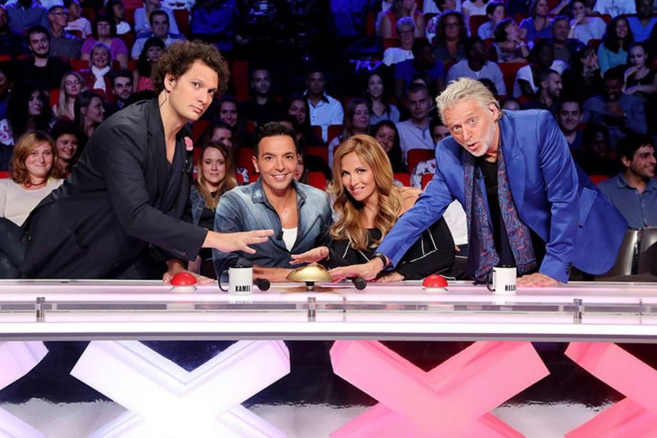Éric Antoine,Kamel Ouali,Hélène Ségara etGilbert Rozon étaient jurés... (Photo fournie par M6)