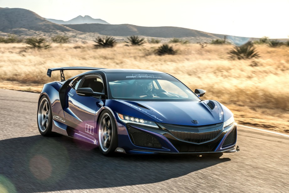 Acura NSX Dream Project | 7 novembre 2017