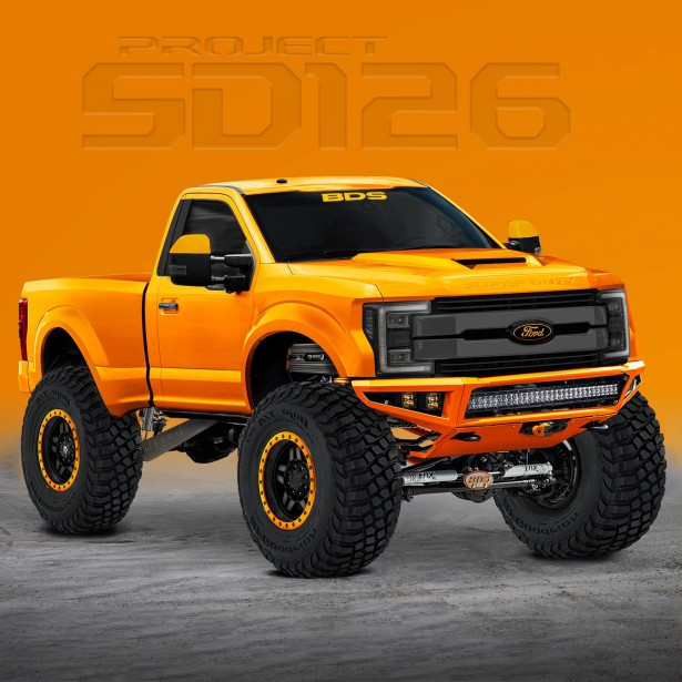 Ford F-250 Super Duty XLT par BDS Suspension | 7 novembre 2017