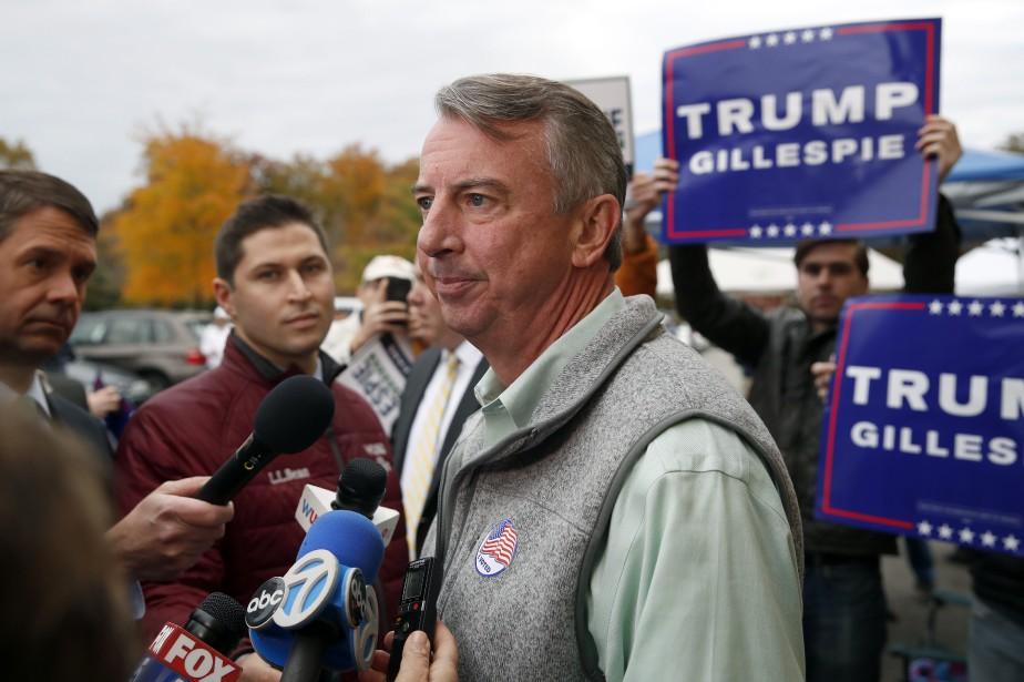 Le candidat républicain au poste de gouverneur de... (PHOTO Alex Brandon, AP)
