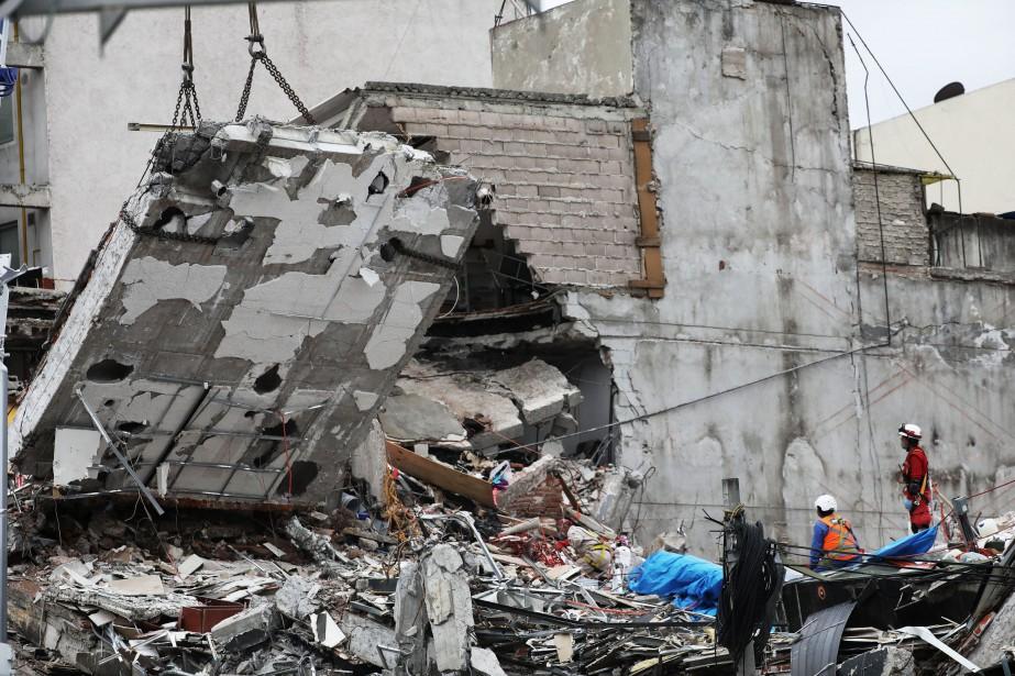 Le 19 septembre, la ville de Mexico s'est... (PHOTO Nacho Doce, REUTERS)