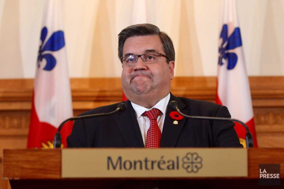 Denis Coderre a tiré sa révérence médiatique mercredi, en... (Photo Martin Chamberland, La Presse)