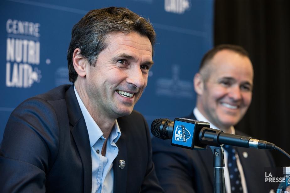Le nouvel entraîneur-chef de l'Impact de Montréal, le... (Photo Martin Tremblay, La Presse)