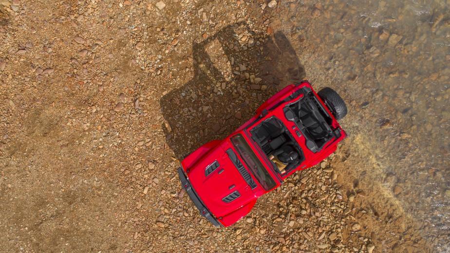 Le Jeep Wrangler Rubicon. (© 2017 FCA US LLC)