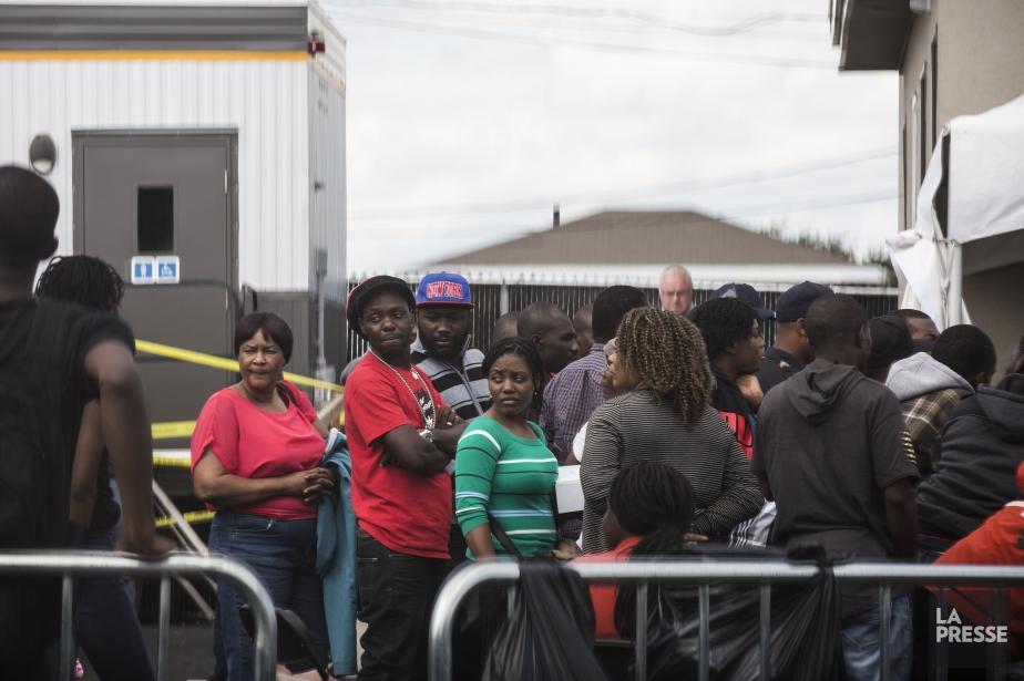 Seulement qu'en août, 5530 personnes ont traversé la... (PHOTO EDOUARD PLANTE-FRÉCHETTE, ARCHIVES LA PRESSE)