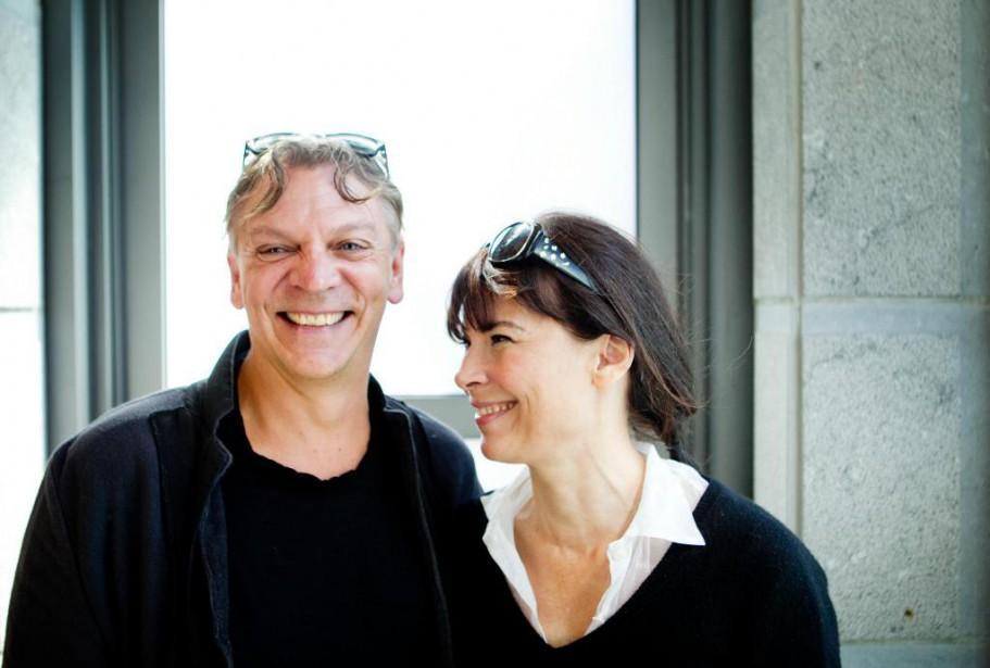 Marc Labrèche et Anne Dorval... (Photo Marco Campanozzi, Archives La Presse)