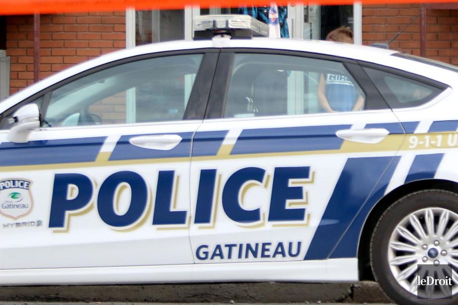 Les policiers de Gatineau étaient... (PATRICK WOODBURY, archives LeDroit)
