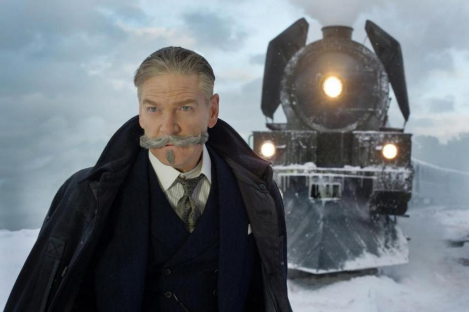 Kenneth Branagh in Murder on the Orient Express... (Crédit : 20th Century Fox)