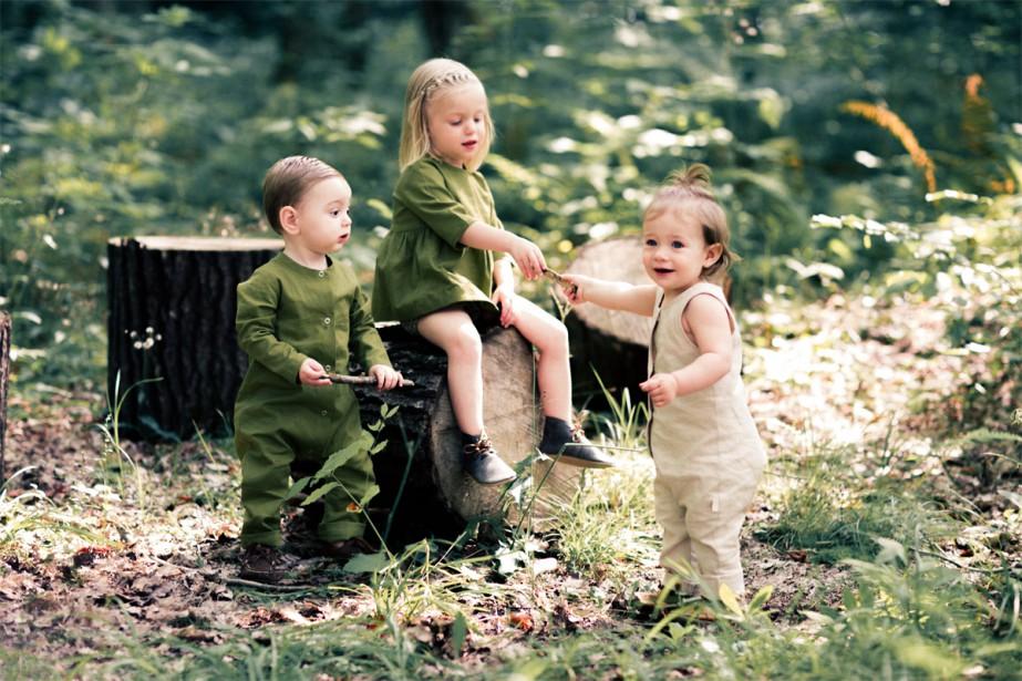 Une collection de vêtements... (Photo fournie par Les Petites natures)