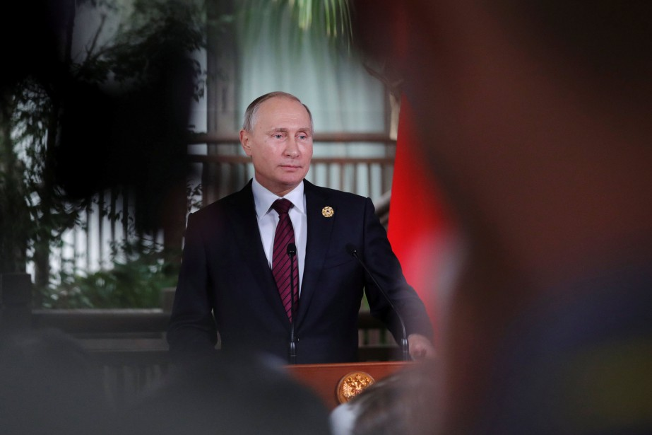 Le président Vladimir Poutine n'a pas digéré l'obligation... (Photo Mikhail Klimentyev, archives REUTERS)