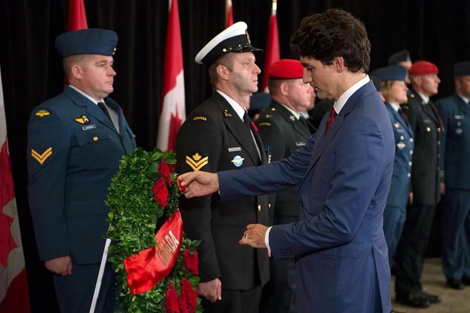 Le premier ministre Justin Trudeau a pris part... (PHOTO ADRIAN WYLD, LA PRESSE CANADIENNE)