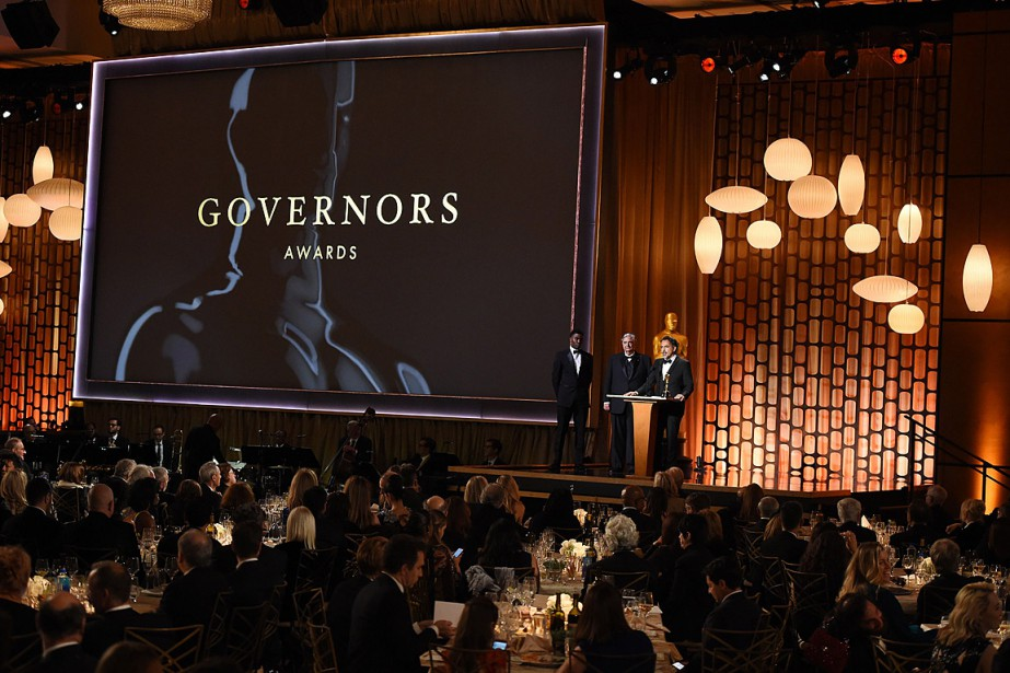 Samedi soir au gala Governors Awards, plusieurs réalisateurs... (PHOTO ROBYN BECK, AGENCE FRANCE-PRESSE)