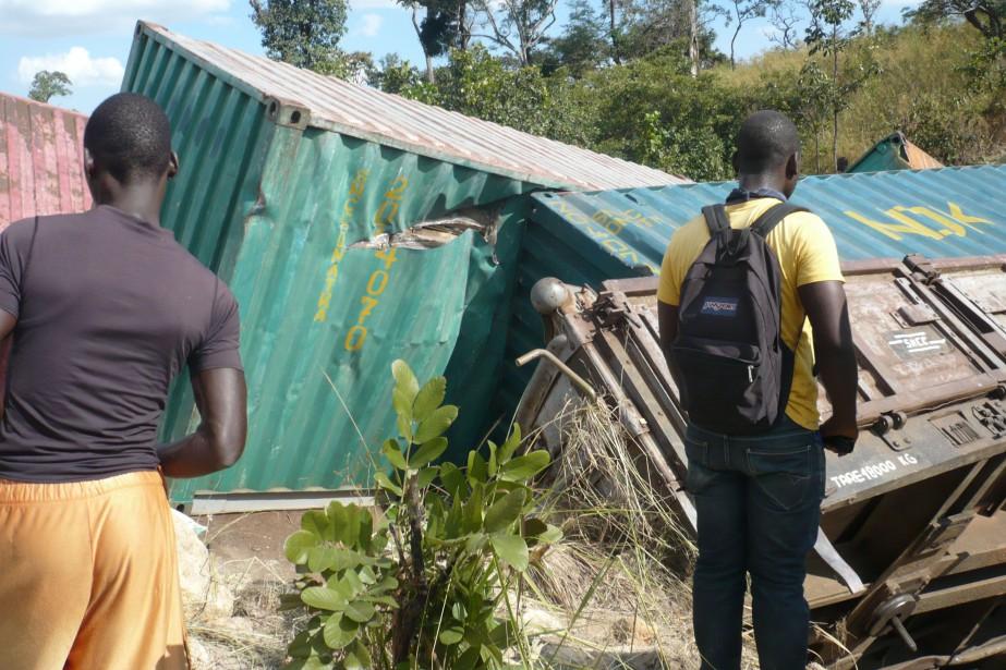 Le train se rendait de Lubumbashi à Luena... (Photo archives AFP)